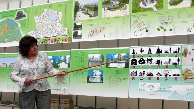 Согласование и защита парка в Киевской городской архитектуре