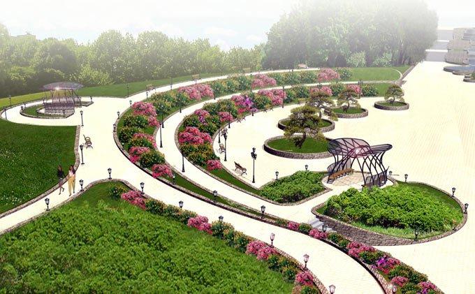 Парк Орлятко Главная площадь